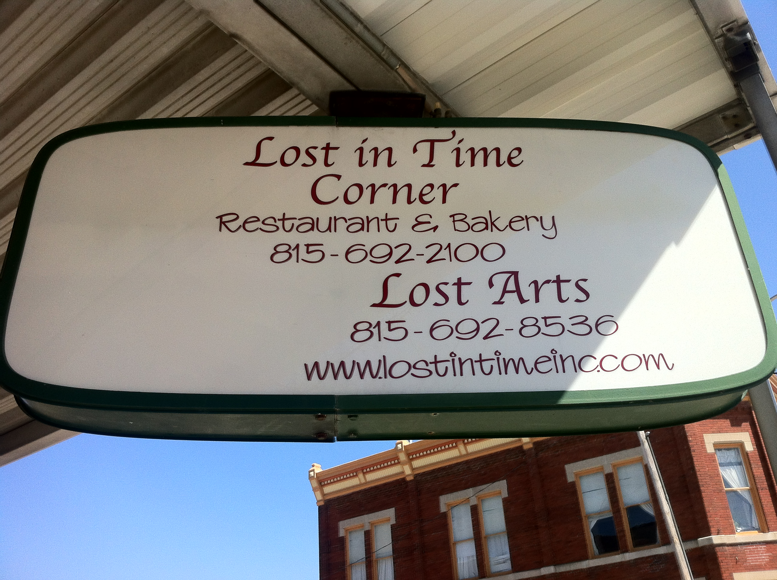 Lost In Time Fairbury Illinois Attractions