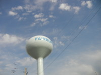 fairbury water tower
