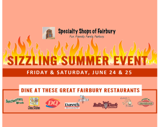 "FAIRBURY, IL – The Specialty Shops Group of Fairbury has one of their ""customer friendly"" shopping opportunities on the agenda that makes it fun to shop for everyone. This enterprising assembly of local merchandise and service providers always comes up with specials, samples, discounts, and sales that gives their customers..."