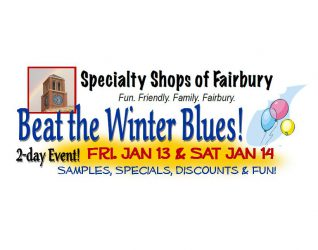 Don't miss this event!  Visit the Specialty Shops of Fairbury!