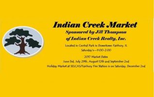 Indian Creek Market is a quality upscale collaboration of Flea Market, Craft Fair, and Farmer's Market merchandise and products. It features a variety of vendors and their displays of items that can be either bought on the spot or ordered for home delivery. It's an exciting arrangement that has collected...