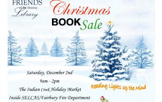 On December 2nd, the Friends of Dominy Library will sponsor a Christmas Book Sale at SELCAS/Fairbury Fire Department (310 W Locust St, Fairbury, IL 61739). The Book Sale will run in conjunction with the Indian Creek Holiday Market from 9 AM to 2PM. The Book Sale is a part of...