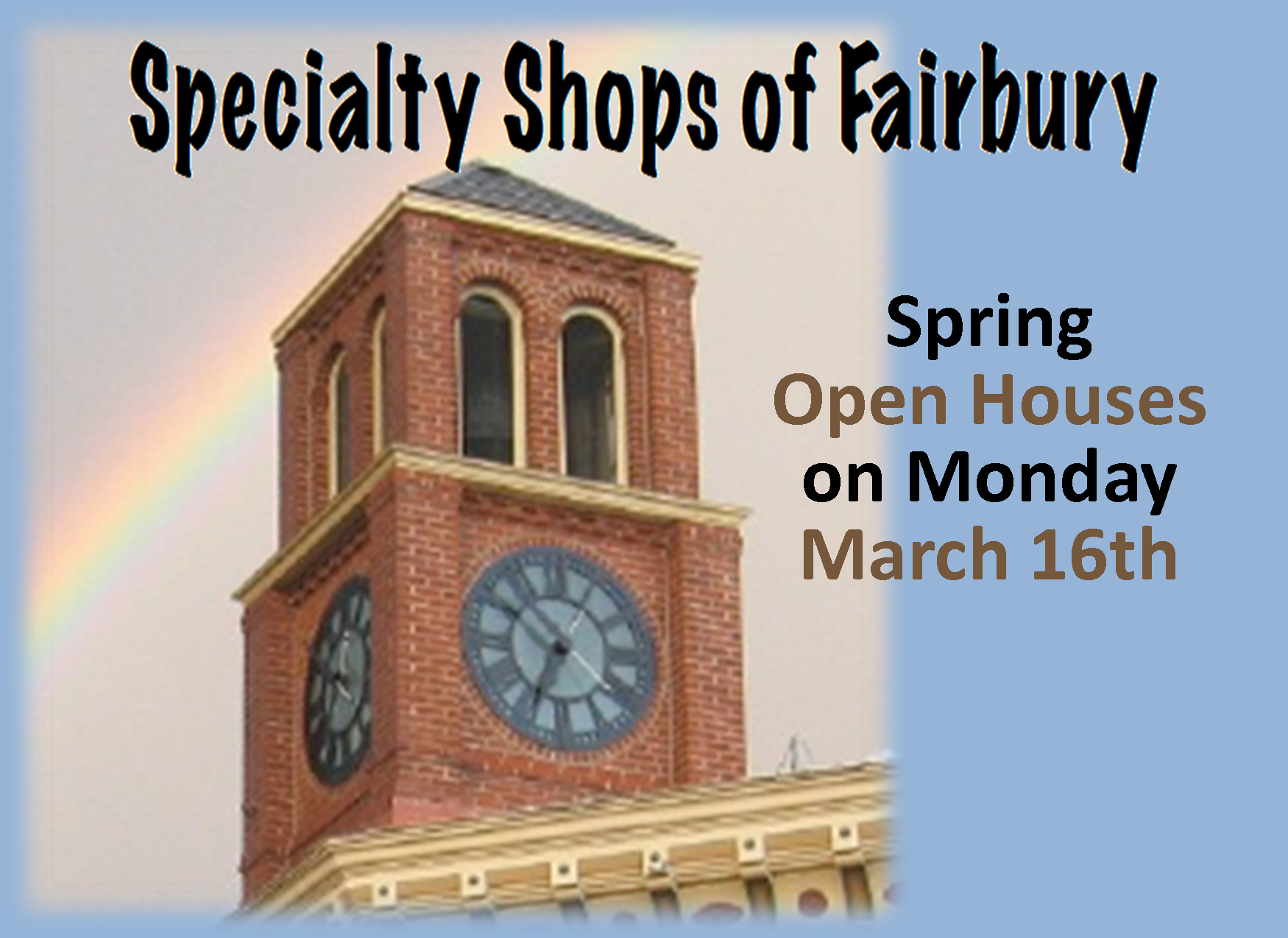 Specialty Shops Spring Openhouse