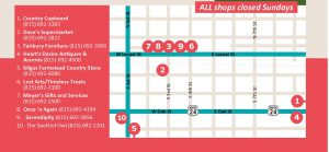 Ride the Shops for web-map