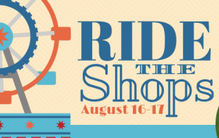 Take a break from the carnival rides at the fair and Ride The shops! The Specialty Shops of Fairbury are offering special discounts and bargains during the Fairbury Fair. On Friday, August 16, to Saturday, August 17, shop for unique gifts, food items, furniture, clothing. Each shop has a tremendous...