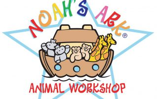 """Wrigley Lab, Polly Poodle, Spotted Puppy, or Charlie German Shepherd? They are all so cute and cuddly! Which puppy will your little one choose to build and take home? Register your child now for the Noah's Ark Animal Workshop and Special Storytime at Dominy Memorial Library! """"We will first read..."""