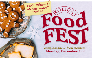 Click Read More to learn more about the Holiday Food Fest at the Central Illinois Connection Center!