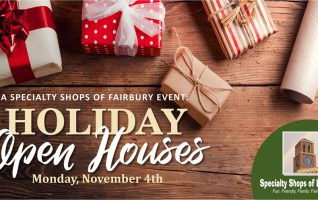 Click Read More to learn more about Holiday Open Houses, a Specialty Shops of Fairbury event!