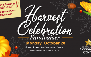 Click Read More to learn about the Harvest Celebration Fundraiser at the Central Illinois Connection Center!