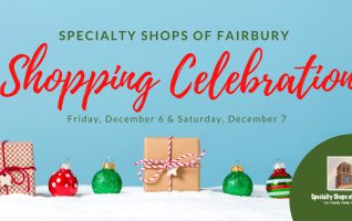 Click Read More to learn about the Shopping Celebration, A Specialty Shops of Fairbury Event.