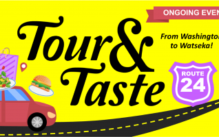 Take a drive on Route 24 and you maybe surprised at what you will find! From Washington to Watseka, discover everything from charming community attractions to quaint specialty shops, restaurants that you'll want to visit, revisit, and visit again, and established friendly businesses you can rely on. On your Route...