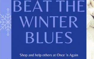 Beat the winter blues by helping others during Once 'n Again's 19th Annual Food & Necessity Drive! Simply bring your donation during this month of January and Once 'n Again will give you a 20% off coupon that you can use once that day or one time before January 30th...